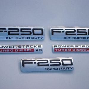F250 XLT Emblem Package 2005 2006 2007 - FordPartsOne