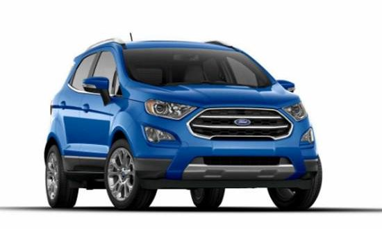 2020 Ford Ecosport Concept Revealed Ford