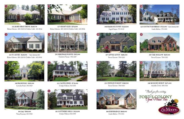 Ford's Colony Parade of Homes