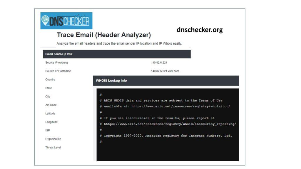 DNSChecker