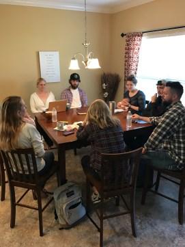 MTSU prayer team planning
