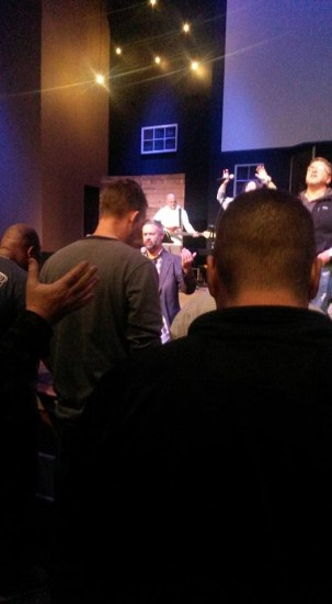 Prayer night at CLC