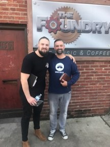With Chris Burns at The Foundry