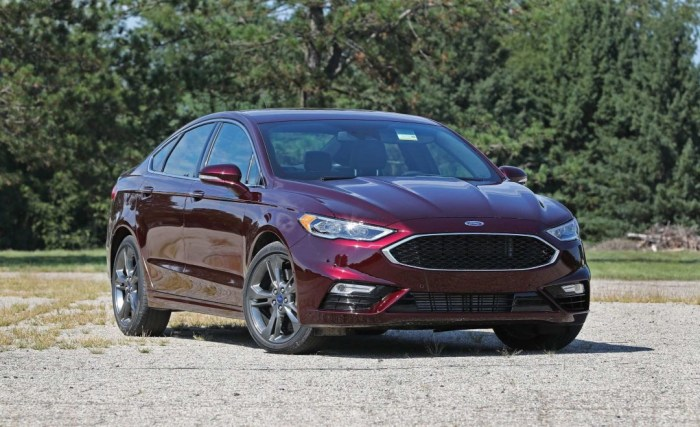 2021 Ford Fusion Exterior