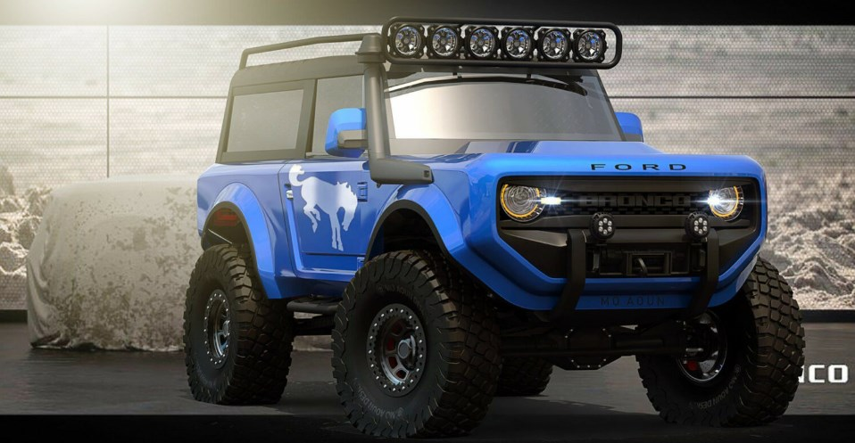 New 2021 Ford Bronco Concept Price Sport Ford Specs