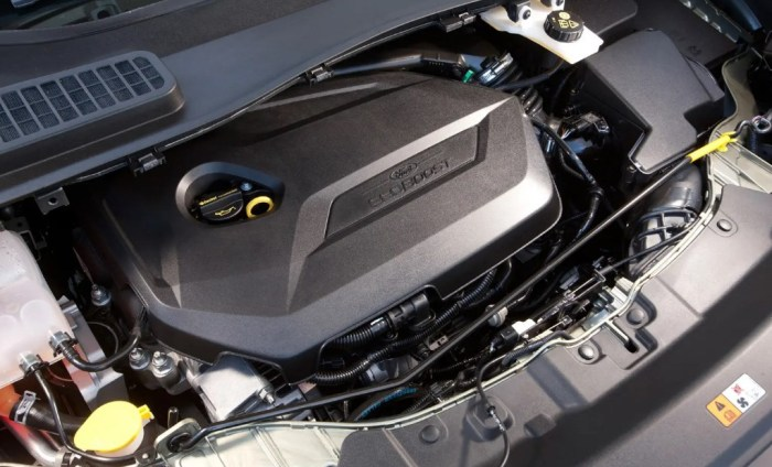 2021 Ford Kuga Engine