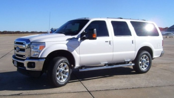 2021 Ford Excursion Exterior