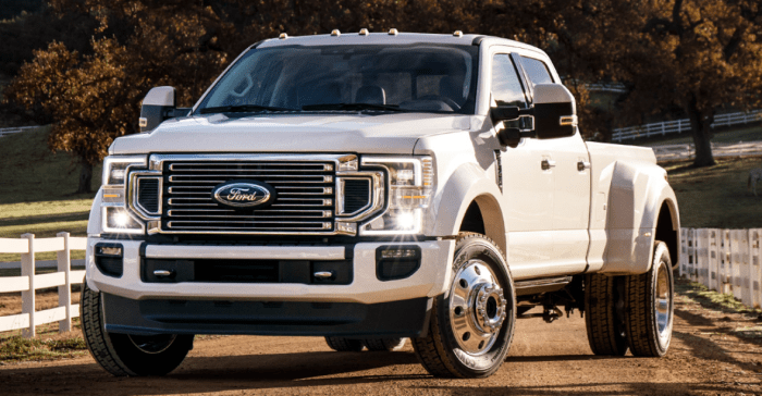 2022 Ford Super Duty Exterior