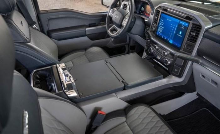 2022 Ford F150 Hybrid Interior