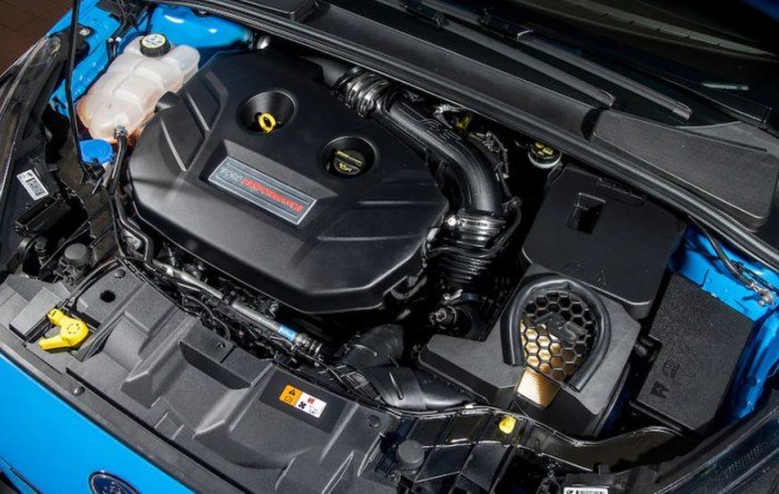2023 Ford Focus RS Engine