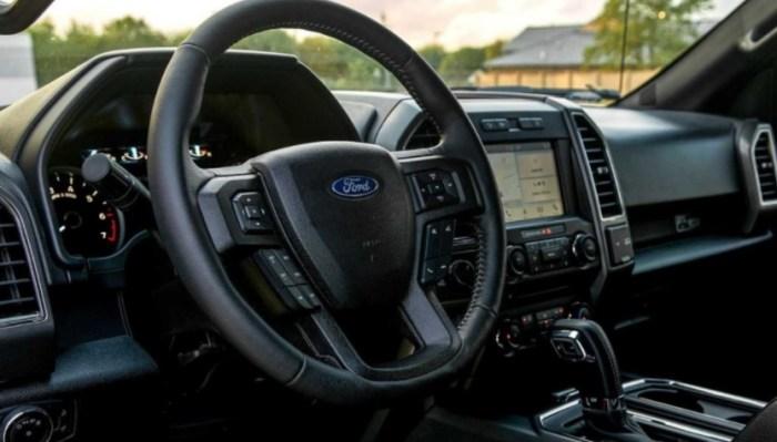 Ford Ranger Raptor 2023 Interior