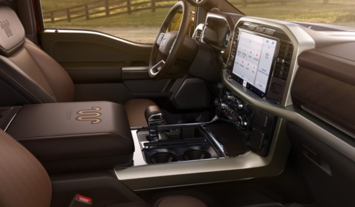2023 Ford F-150 Electric Interior