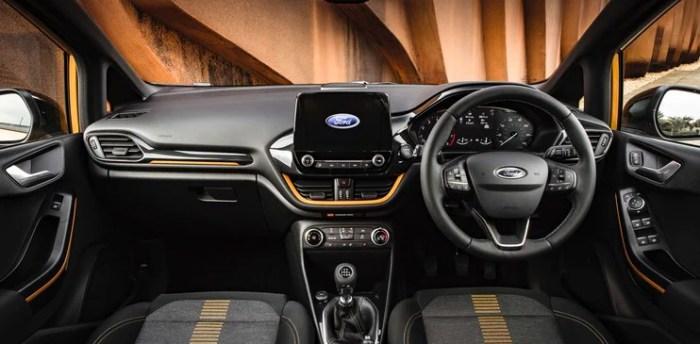 Ford Fiesta 2022 Interior
