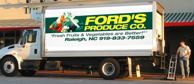 Ford's Produce Distribution Truck