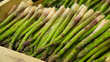 asparagus, new years holiday