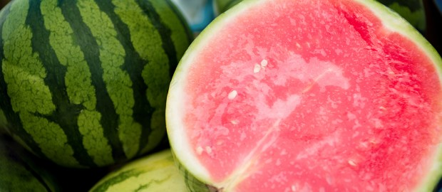 Watermelons are very plentiful locally and seem to be everywhere at once.