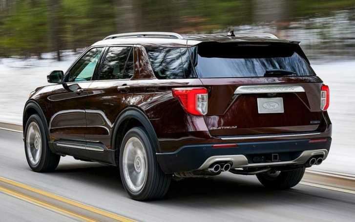Ford Explorer 2023 Redesign Competition in the mid-size SUV