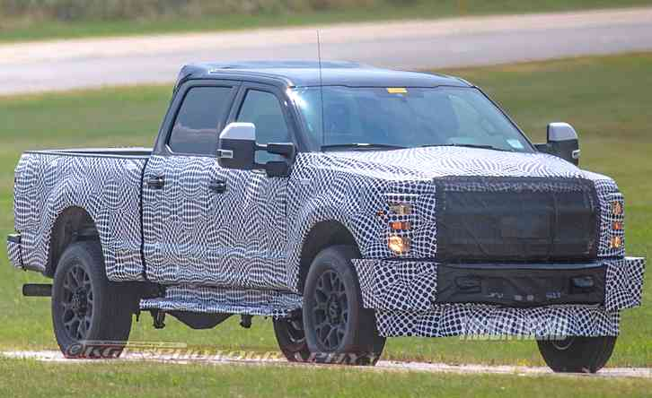 Ford super duty redesign is scheduled to go on sale in early 2023