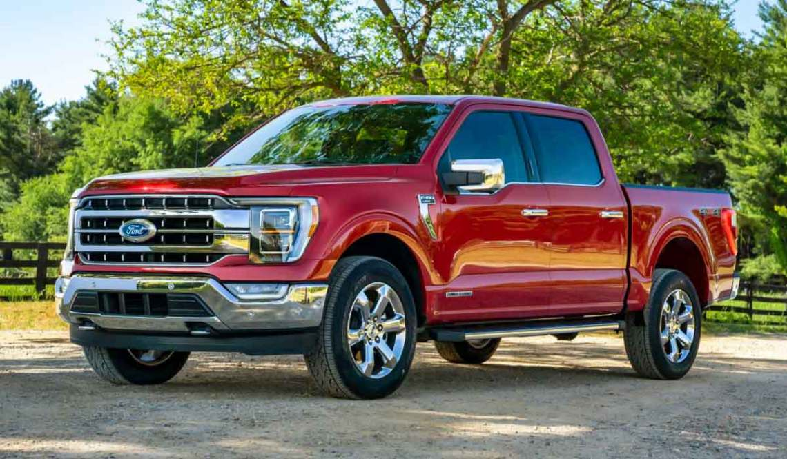 2022 Ford F150 The hybrid merely marks the beginning of the F-150's electric embrace. Come model-year 2022, the F-150