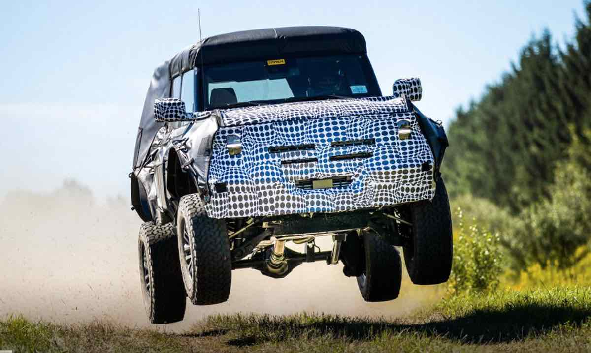 2022 Ford Bronco: That means its price should be higher than the 2021 Ford Bronco First Edition, which starts at $60,800
