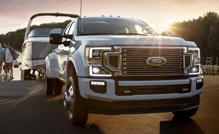 2022 Ford F 350 The highlight of the 2021 Ford F-350 is its diesel powertrain. It is a 6.7-liter turbodiesel that cranks out 450 hp and 935