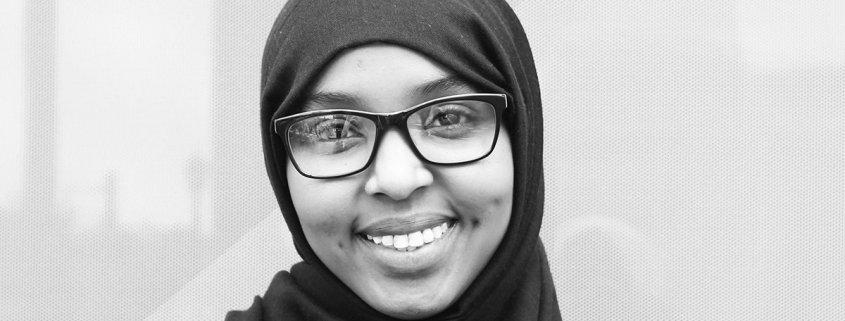 smiling portrait of Khadijah M
