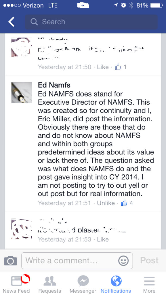 Eric Miller Doing What Eric Miller Does Best ... Fraud! A Violation of Facebook TOS