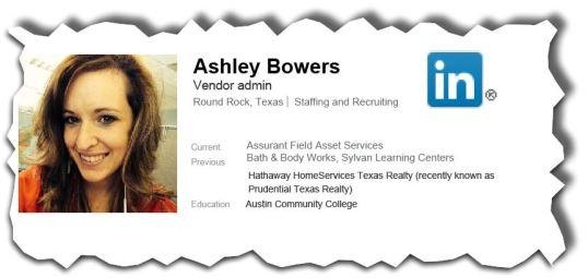 Ashley Bowers Vendor Admin at AFAS