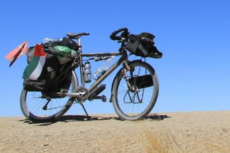 Jorden rundt på cykel