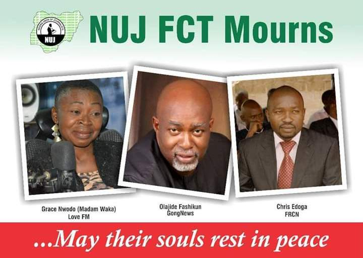 Tears Flow As FCT NUJ Mourns, Calls For Prayers