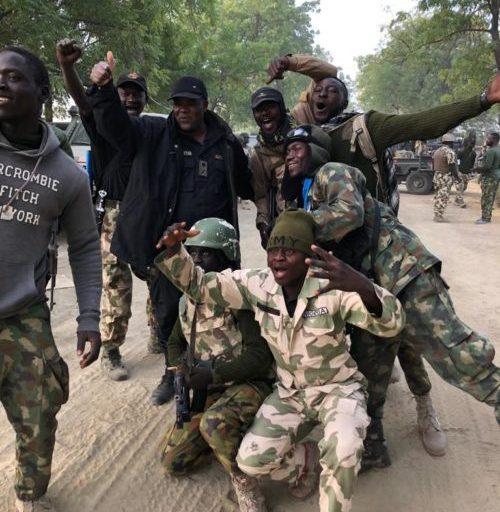 Jubilation As Boko Haram Suffer Casualties In Northern Borno