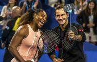 Playing Federer Excites Serena