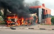 Two Of Our Vehicles Burnt By Shiite Members In Abuja – NEMA