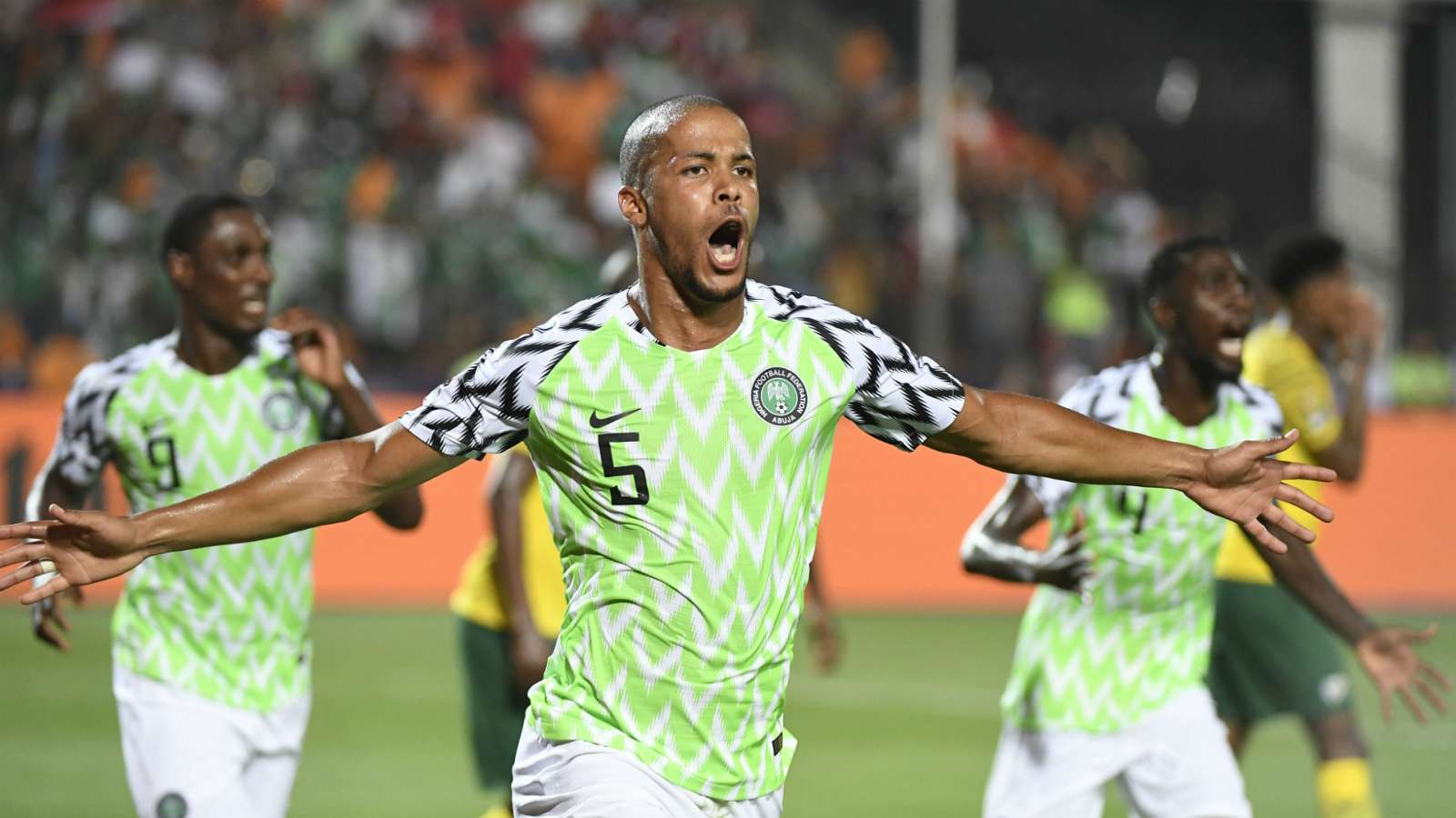 2019 AFCON: Troost-Ekong Dedicates Goal To Son