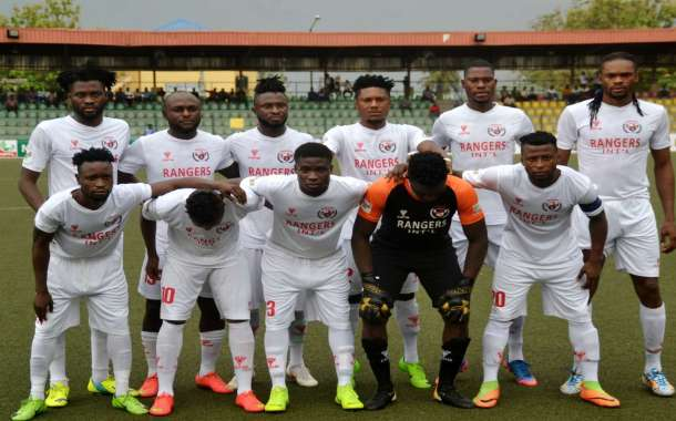 CAF Cup: Rangers Fall 1- 2 In Libreville