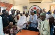 Muhammad Garba Assumes Duty As Commissioner In Kano With A Rousing Welcome