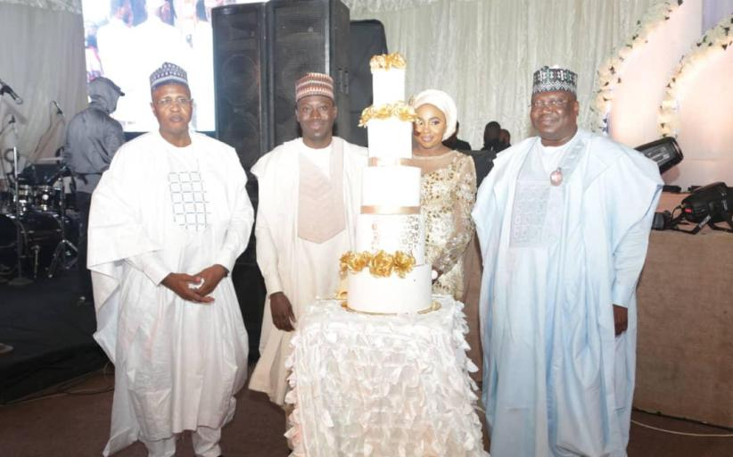 PHOTO NEWS: Senate President, Ahmad Lawan In Kano For Son's Wedding
