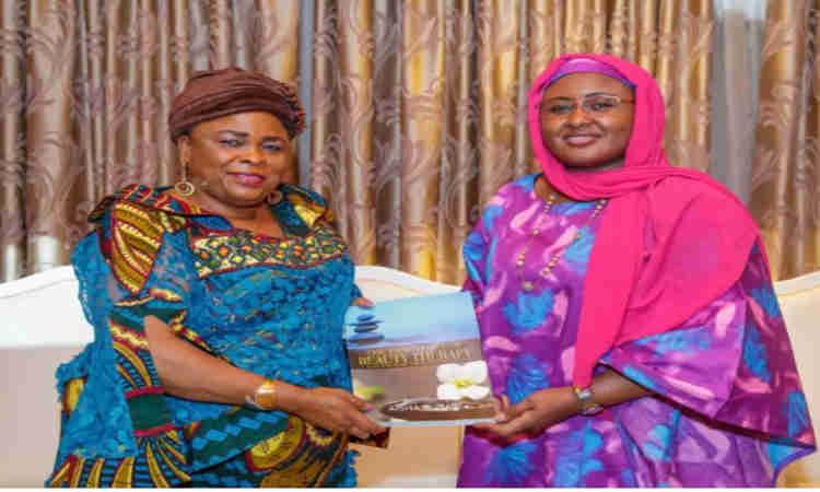 Patience Jonathan: Aisha Buhari's Surprised Visitor At Aso Villa