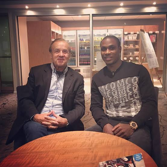 Ighalo's Man United Move Excites Rohr