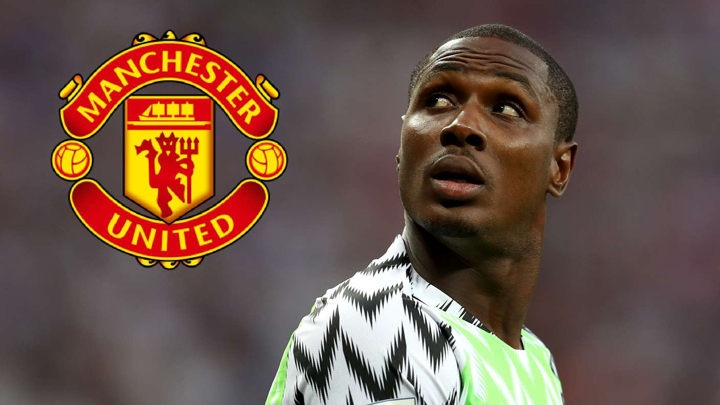 Surprise! Ighalo Joins Man United On Loan