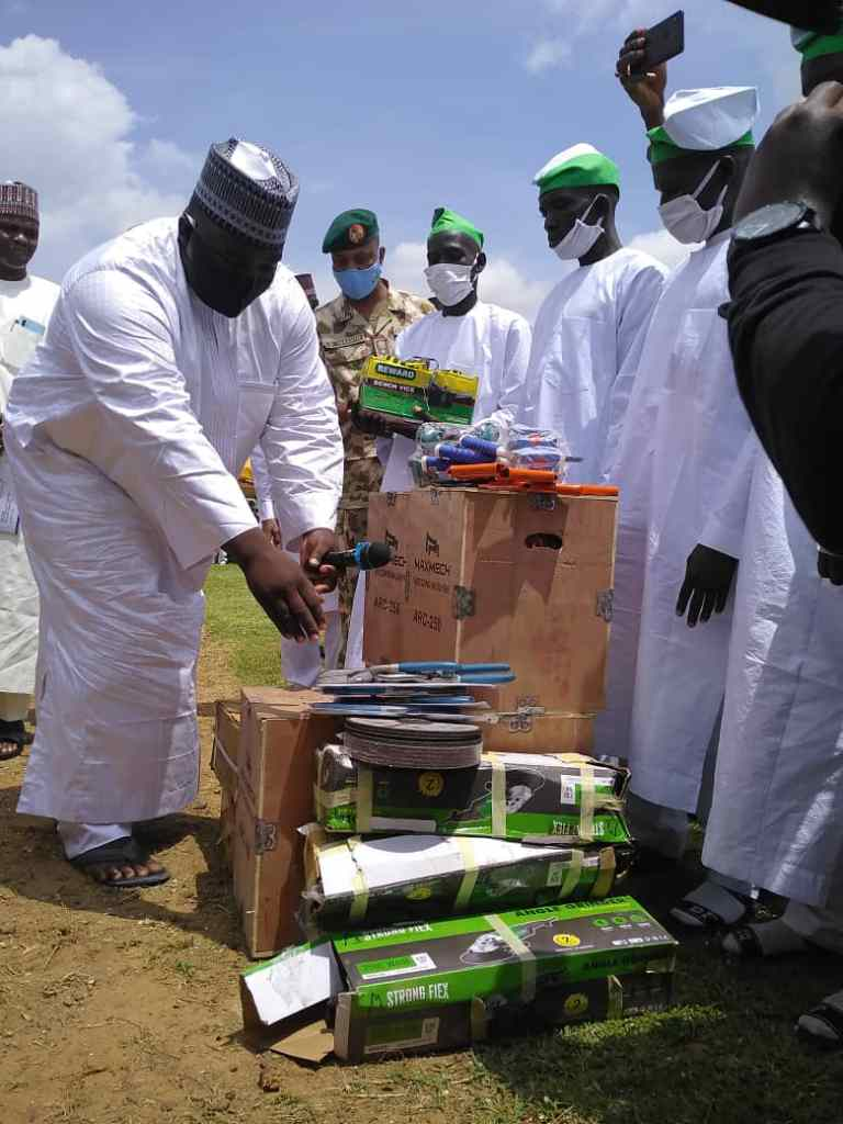 NEDC Supports Repentant Insurgents With Business Working Tools