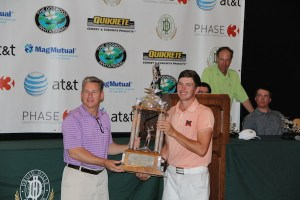 Trey Rule golden at Dogwood; takes playoff after late bogey