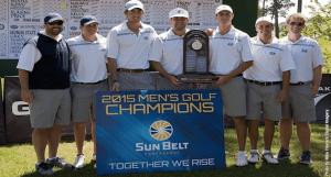 Georgia Southern Men's Golf Wins Sun Belt Championship