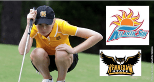 Sverdloff Earns Second Atlantic Sun Golfer of the Week