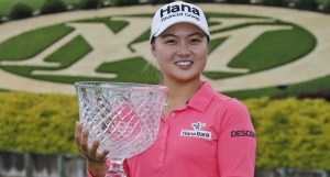 Minjee Lee wins the 2015 Kingsmill Championship held at the Kingsmill Resort's River Course.