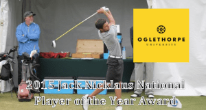 Anthony Maccaglia Earns the Jack Nicklaus National Player of the Year Award