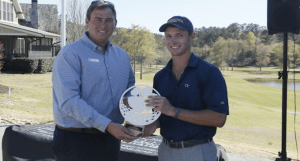 Whaley Captures Clemson Invitational Title
