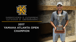 Kennesaw State Men's Golfer Wyatt Larkin Captures Yamaha Atlanta Open