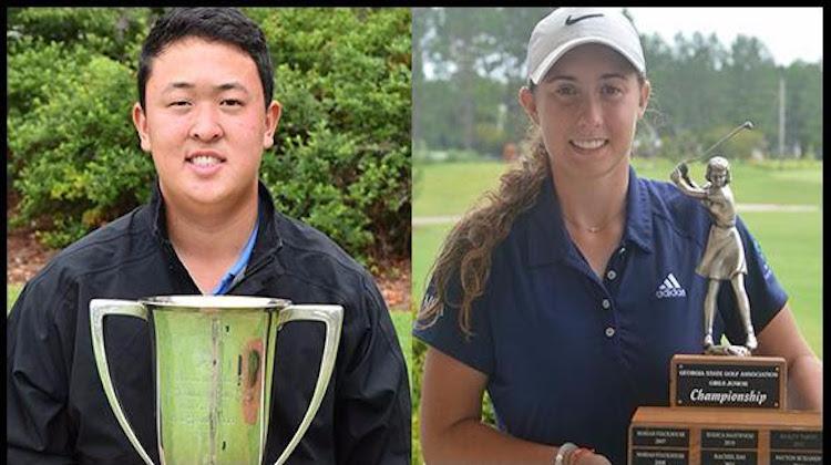 Brandon Cho Wins Georgia Junior Championship & Ivy Shepherd Wins Georgia Girls' Championship