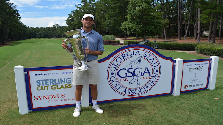 Justin Connelly wins Georgia Amateur with record-breaking score